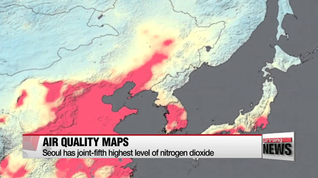 New Nasa Satellite Maps Show Human Fingerprint On Global Air Quality