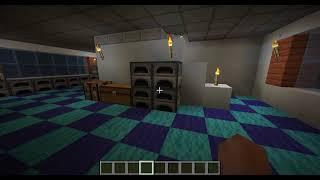 Minecraft 1.16.4 마크집(인테리어2)