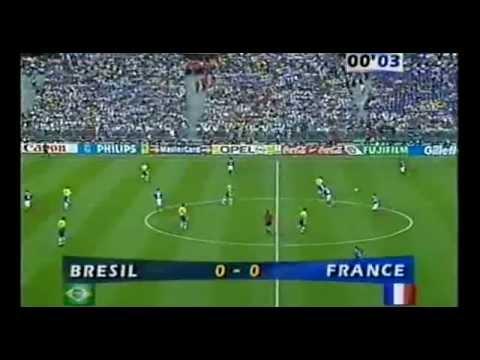 Francja - Brazylia, skrót finału MŚ 1998