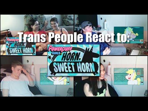 """Trans People React to The Powerpuff Girls """"Horn, Sweet Horn"""" (2016 S01E05) Cartoon Network"""