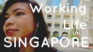 My Working Life in Singapore |Vlog| 🇸🇬