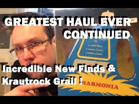 Greatest Vinyl Haul Ever Pt.2,  More New Cheap Finds & Krautrock Grail !