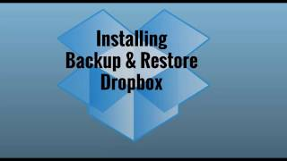 Easy Installation of Backup & Restore Dropbox plugin for WP
