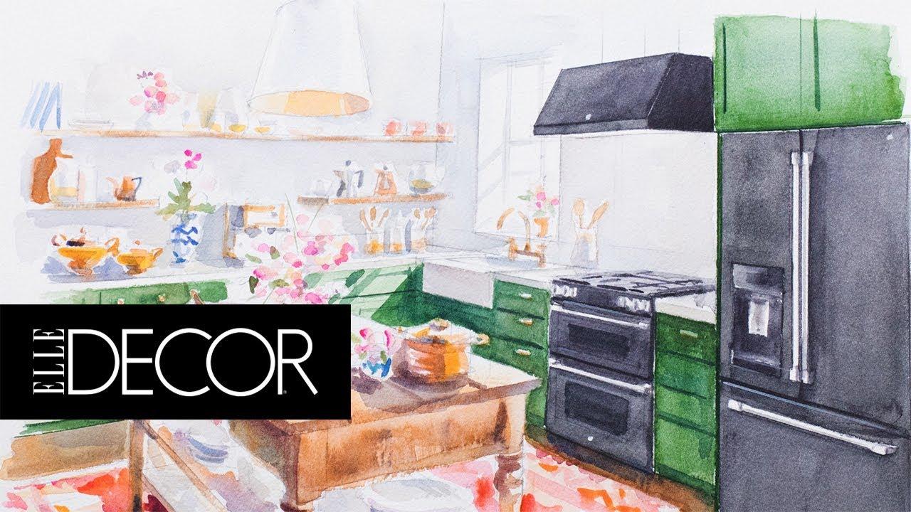 Family Style Dream Kitchen Elle Décor