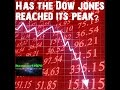 Dow jones Falling, has it reached its peak?