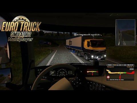 Scandinavia Växjö, Suecia a Aberdeen, Inglaterra   Euro Truck Simulator 2 Multiplayer