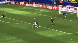 """Golazo De """"El Tigre"""" Radamel Falcao Garcia (Atletico Madrid 4-2 Valencia) HD"""