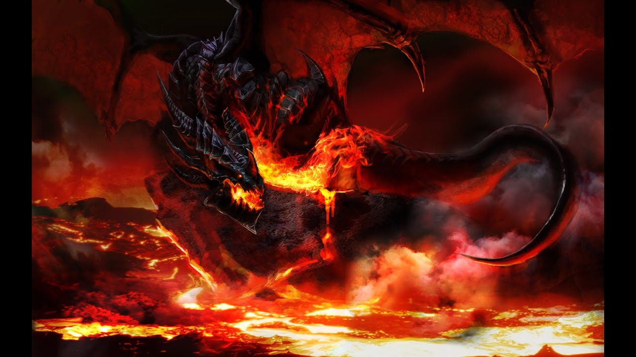 Red Fire Dragon: YGOPRO: Red-Eyes Black Dragon And Red Dragon Archfiend