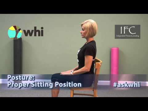 end back pain with stretchsitting