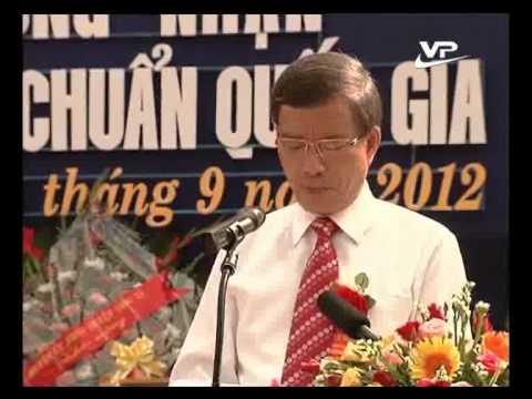 VinhPhucTV.vn - Truong THPT Sang Son dat chuan Quoc gia