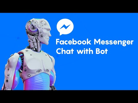 Facebook Messenger Chat With Bot Demo
