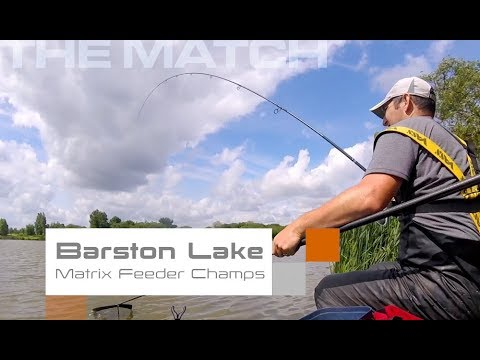 Live Match Fishing: Barston Lake, Matrix Feeder Champs