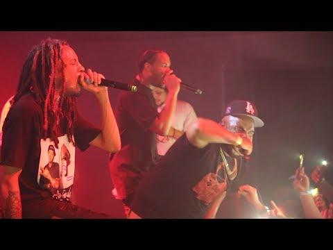 Chris Travis, Eddy Baker, & Xavier Wulf (Live in LA, 11/26/17)