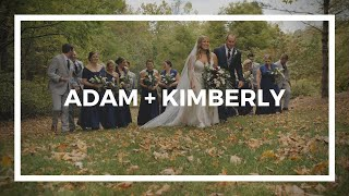 Adam + Kimberly | A Wedding Film | House Mountain Inn