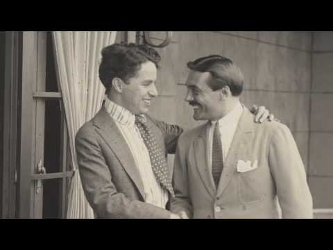 Max Linder Visits Charlie Chaplin - Behind the Scenes Archival Footage