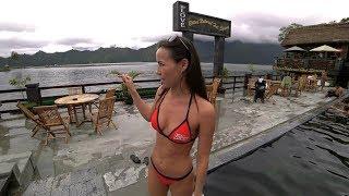 Бали. Подземный водопад. Горячие источники.