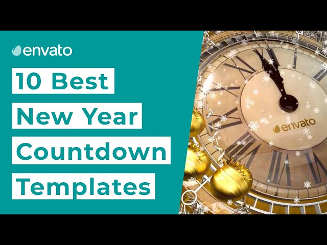 Top 10 Best New Years Countdown Templates for 2020