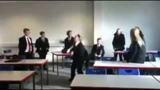 Me and my class doing Harlem shake Thumbnail