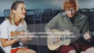Rita Ora  - Your Song ft. Ed Sheeran (Tłumaczenie PL)