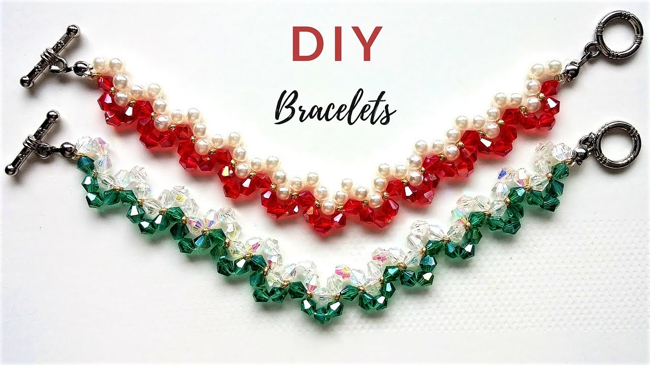Beading Ideas For Diy Jewelry Beaded Bracelets Valentine S Day Gift Mother