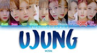 ................................................................................ artist: wjsn (우주소녀) song: ujung (우주정거장) album: 'wj stay' mini album members:...