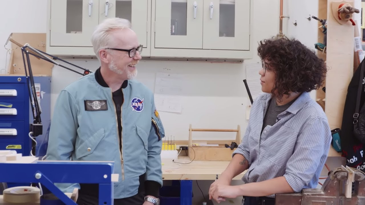 Adam Savage Meets the Youngest Modelmaker at Smithsonian Exhibits