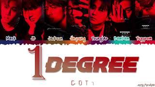 Gambar cover GOT7 (갓세븐) - '1 DEGREE' (1°) Lyrics [Color Coded_Han_Rom_Eng]