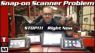 Snapon Scanners Causing Damage to Toyota Vehicles Unless Updated