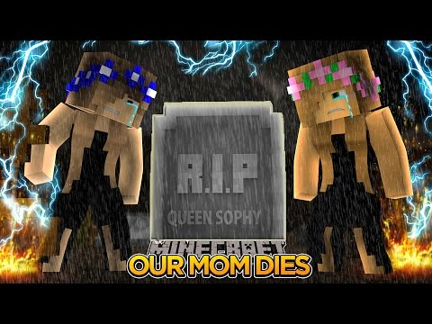 Minecraft - Little Kelly : OUR MOM DIES!