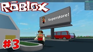 Let's Play Roblox Retail Tycoon game part #3 - I got a SUPERSTORE! Gameplay commentary - KID GAMING