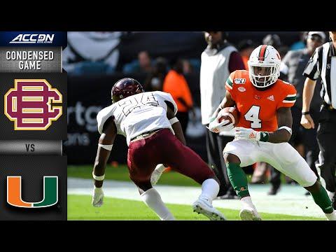 Bethune-Cookman vs. Miami | ACC Football 2019-20