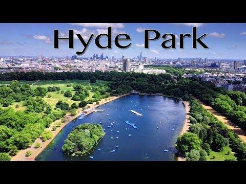 London Hyde Park in sixty seconds (DJI Mavic Pro in 4K)