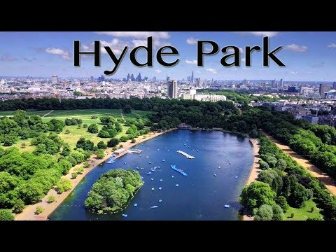London Hyde Park in sixty seconds (DJI Mavic Pro in 4K)