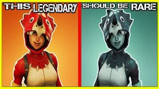 10 SKINS That Need To Be A Different RARITY In FORTNITE!