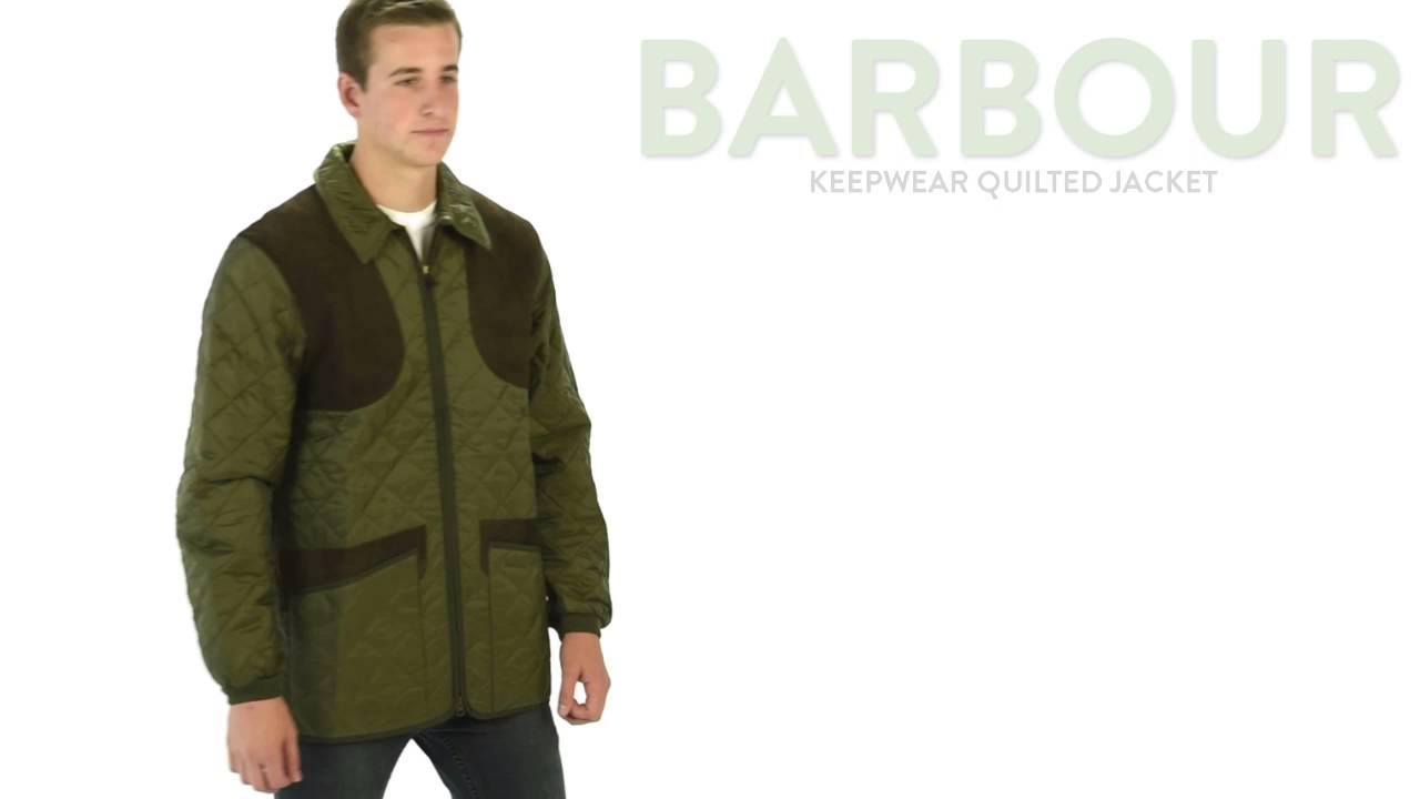 Barbour Keeperwear Quilted Gilet