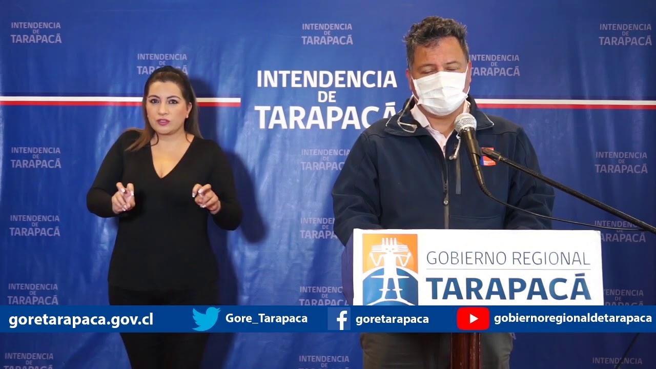 Punto de prensa 04 de agosto de 2020 - Gobierno Regional de Tarapacá