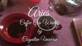 Aries September 4, 2017 Weekly Coffee Cup Reading by Cognitive Universe