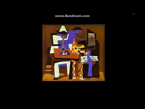 50.- Los tres músicos. Picasso