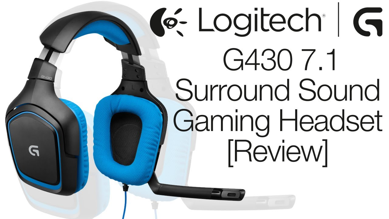 Logitech G430 Surround Sound Gaming Headset Review & Mic