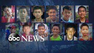 'I felt nervous and worried': 12 boys, coach trapped inside Thai cave:  20/20 Part 1