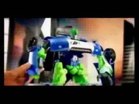 Max Steel Tv Spots 2012: Cytro Vehículo Transformable - YouTube