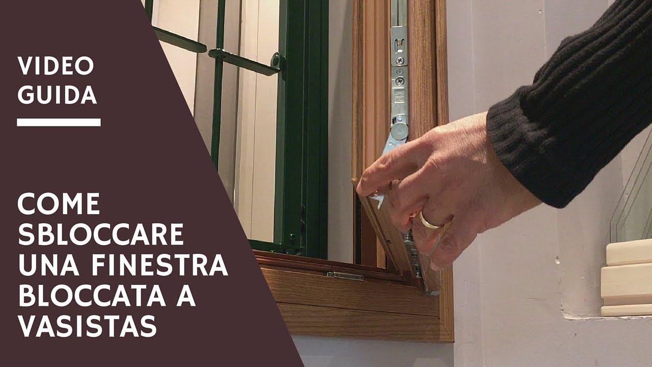 Finestra bloccata a vasistas come sbloccarla in 30 for Finestra basculante