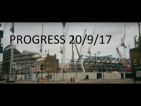 Tottenham's new stadium progress view as at 20th September 2017  #COYS