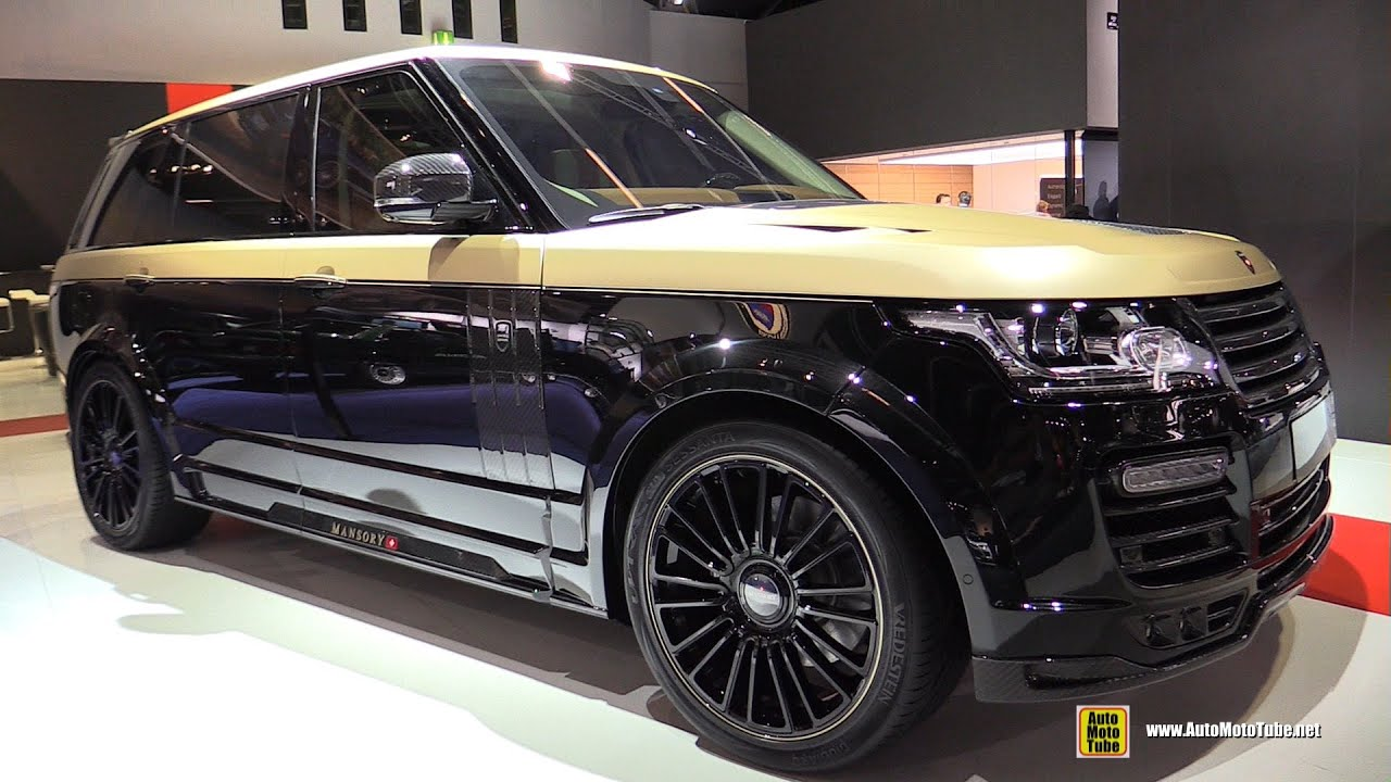 2015 Range Rover Autobiography Customized by Mansory Exterior