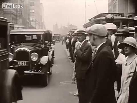 LiveLeak - Traffic In The 1920's - Broad And Market Street, Newark, NJ