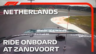 Ride Onboard For Our First Laps Of Zandvoort | 2021 Dutch Grand Prix