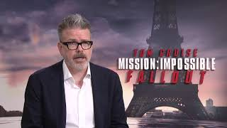 Mission impossible Fallout - Itw Christopher McQuarrie (Paris Junket) (official video)