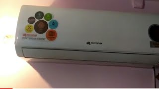 micromax ac 1 5 ton demo and review witth remote