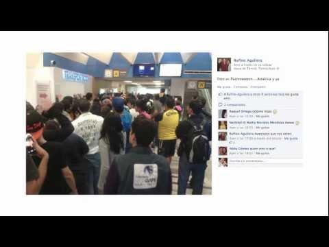 El América en el Sur de Tamaulipas y las Redes. Enero 22, 2012 Parte 1