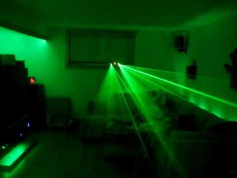 color kinetics vs laser light show basement home theater youtube rh youtube com